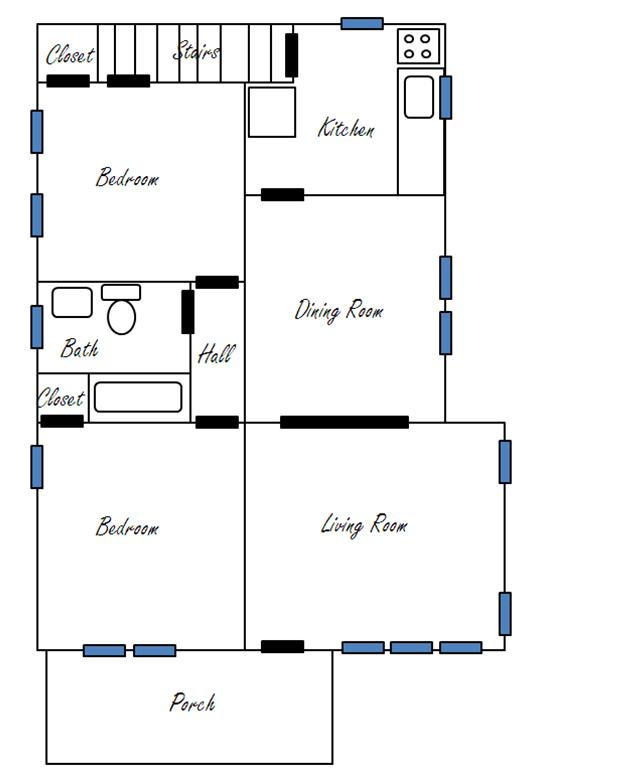 Floor plan ittybittybungalow - Plan floor design ...