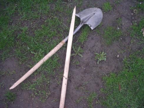 Broken Shovel