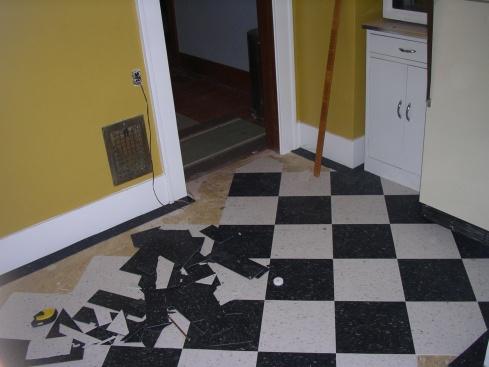 Kitchen Floor Tiles Math Problem